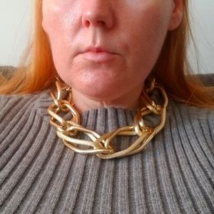 Large Double Link Necklace